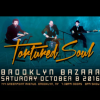 NYC's Live Soulful House Trio Tortured Soul returns to Brooklyn at brand new Brooklyn Bazaar